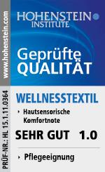 Hohenstein Institute Label Bademantel
