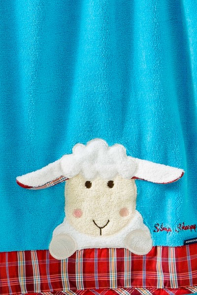 Kinder Decke Sleepy Sheepy Sweety, Morgenstern, türkis