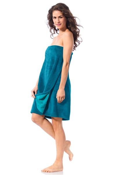 saunakilt damen gepr fte qualit t petrol sarong. Black Bedroom Furniture Sets. Home Design Ideas