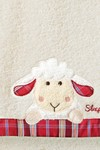 Kinder Handtuch Serie, Sleepy Sheepy Sweety, Morgenstern, Baumwolle, natur